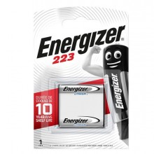 89502 - Blister 1 pila 223 Photo Lithium - Energizer Specialistiche -