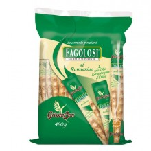 89683 - Grissini Fagolosi gusto rosmarino multipack 480gr -