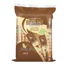 89684 - Grissini Fagolosi gusto classico con sesamo multipack 480gr -