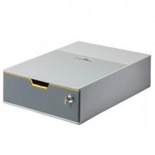 Cassettiera 1 cassetto colorato Varicolor1SAFE grigio Durable