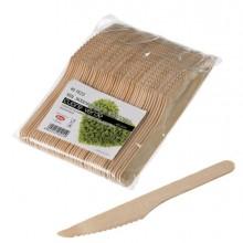 90280 - 48 Coltelli in legno 16cm Leone -