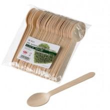90281 - 48 Cucchiai in legno 16cm Leone -