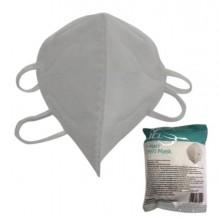 Mascherine bianca FFP2/KN95 pieghevole s/valvola - CONF.10 pz