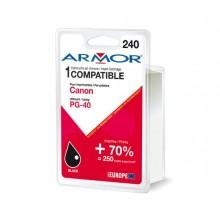 ARMCPG40 - Cartuccia Nera Per Canon Pixma Ip1200, Ip1300, Ip1700, Ip2200, Ip2500 -