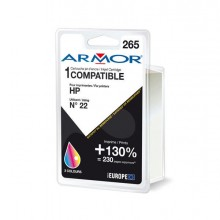 ARMH22 - Cartuccia Colori Per Hp N22 Psc 1410, 1415, Deskjet F380, D1360 Doppia Capacita -