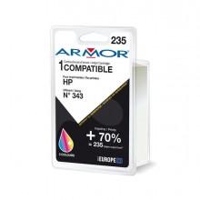ARMH343 - Cartuccia Colori Per Hp N343 Psc 1510, 1610, Deskjet 5740 22Ml -