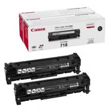 CAN718BKKIT - Scatola 2 Toner Nero Lbp7200 Mf8330 Mf8350 -