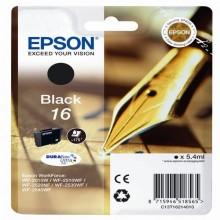 EPST16214012 - Cartuccia A Pigmenti Nero Epson Durabrite Ultra Serie 16/Penna E Cruciverba -