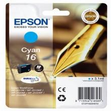 EPST16224012 - Cartuccia A Pigmenti Ciano Epson Durabrite Ultra, Serie 16/Penna E Cruciverba -