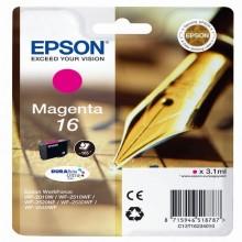 EPST16234012 - Cartuccia A Pigmenti Magenta Epson Durabrite Ultra, Serie 16/Penna E Cruciverba -