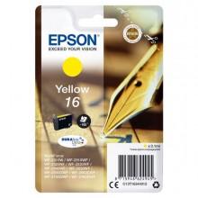 EPST16244012 - Cartuccia A Pigmenti Giallo Epson Durabrite Ultra, Serie 16/Penna E Cruciverba, -