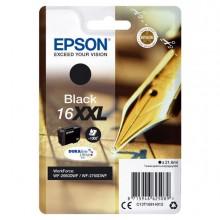 EPST16814012 - Cartuccia A Pigmenti Nero Epson Durabrite Ultra, Serie 16xxl -