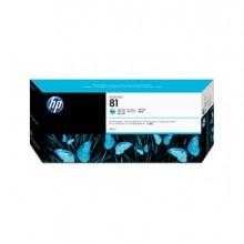 HPC4934A - Cartuccia A Getto D'Inchiostro Dye Hp N.81 Ciano Chiaro 680Ml -