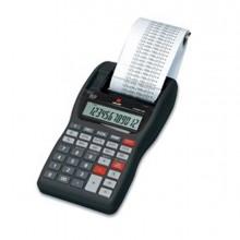 OLIB4621 - Calcolatrice Summa 301 Portatile Scrivente 12 Cifre Nero -