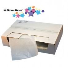 STL8009 - 250 Buste adesive portadocumenti C6-160x120mm Eco Starline -