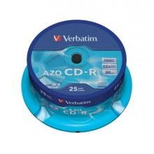 VERCD70048S25K - Scatola 25 Cd-R Datalifeplus Spindle 1x-52x 700Mb Serigrafato -