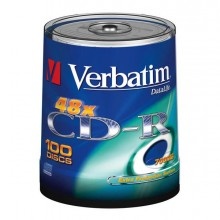VERCDP700100SK - Scatola 100 Cd-R Datalife Spindle 1x-52x 700Mb Serigrafato Extra Protection -