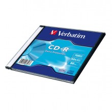 VERCDP70048SLS - Scatola 200 Cd-R Datalife Single Pack Slim Case 1x-48x 700Mb Serigrafato -