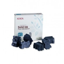 XER108R00746 - 6 Stick Genuine Solid Ink Ciano xerox Phaser 8860 -