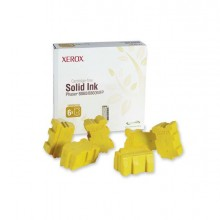 XER108R00748 - 6 Stick Genuine Solid Ink Giallo xerox Phaser 8860 -
