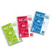 Ricambi forati - Ricambi Forati A5 1Rigo 80gr Quaxima 40fg 80gr Pigna -