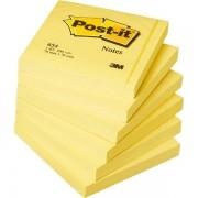 Blocchi adesivi - dispenser - Blocco 100Fg Post-It Giallo Canary 76X76Mm 654 23799 - CONF.12 -