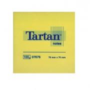 Blocchi adesivi - dispenser - Blocco Tartan 7676 Giallo 76X76Mm 100Fg 63Gr 68015 - CONF.12 -