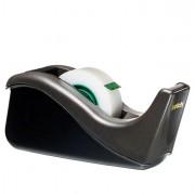 Nastri adesivi con dispenser - Dispenser C-38 Ricaricabile Da Tavolo Per Nastri Max 19mm x 33M Nero -