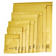 Buste imbottite - 10 Buste Imbottite Gold A 11x16Cm Utile Avana -