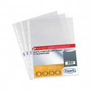 Buste a perforazione universale - 50 Buste Forate 22x30 1725/15 Superior B.A. Favorit -