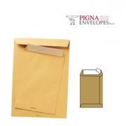 Buste a sacco - 500 Buste A Sacco Avana 190x260mm 100gr Adesiva Multimail Pigna -