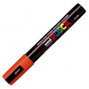 A base d'acqua - Marcatore Uni Posca Pc5M P.Media 1,8-2,5mm Arancio Uni Mitsubishi -