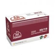 Aggraffatrici e accessori - Scatola Da 2000 Punti 35/19 19mm Rame Ro-Ma x Romabox -