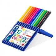 Pastelli colorati - Astuccio 12 Matite Colorate Ergo Soft Staedtler -