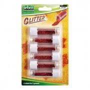Glitter e porporina - Busta 6 Tubi Porporina Rosso 2gr Lebez -