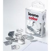 Fermagli - fermacampioni - molle - Scatola 100 Fermagli Angolari In Alluminio -