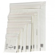 Buste imbottite - 10 Buste Imbottite Bianche F 22x33Cm Utile Mail Lite -