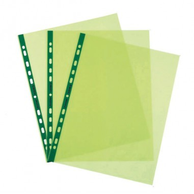25 Buste Forate Pstel 22x30 Verde...