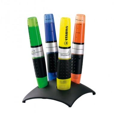 Colore liquido - Set 4 Evidenziatori Stabilo Luminator 7104-2 -