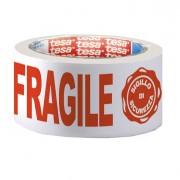 Nastro per imballo e tendinastro - Nastro Adesivo ppl 66Mtx50mm Fragile Con Sigillo Sicurezza 7024 Tesa -