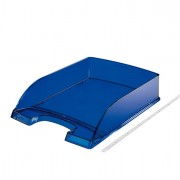 Portacorrispondenza - portariviste - Vaschetta Portacorrispondenza Standard Plus Blu Trasp. 52260039 - CONF.5 -
