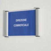 Porta avvisi e targhe da parete - Porta Targa A6 - 11x15Cm Appendibile Wall Sign -