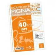 Ricambi forati - Ricambi Forati Rinforzati A4 10mm 40fg 80gr Pignaric -