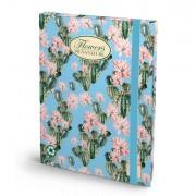 Cartelle con elastico - Cartella progetti con elastico 26x34cm dorso 3cm Pigna Nature Flowers - CONF.6 -