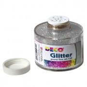 Glitter e porporina - Barattolo Glitter grana Fine Ml150 Argento Art 130/100 Cwr -