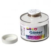 Glitter e porporina - Barattolo Glitter grana Fine Ml150 Bianco/Iride Art 130/100 Cwr -