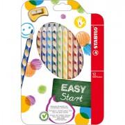 Pastelli colorati - Astuccio 12 Pastelli Colorati Easycolor Per Mancini Stabilo -