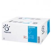 Asciugamani in fogli rotolo e distributori - Pacco Da 210 Asciugamani Piegati A V Euro V Top Goffrato A Onda 402292 - CO