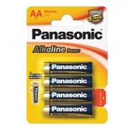 Pile - Blister 4 Pile Stilo Alkaline Aa 1,5V Panasonic -