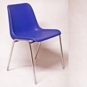Sedute attesa e accessori - Sedia Attesa Esse Blu Senza Braccioli -